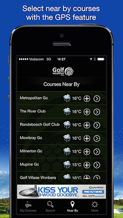 Golfweather.com screenshot-3