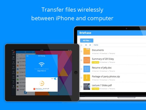 Briefcase - File manager & document pdf reader screenshot