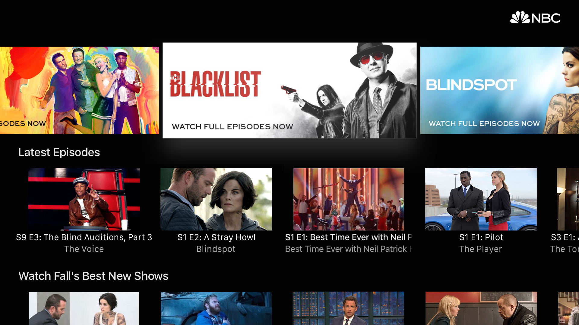The NBC App – Stream TV Shows screenshot 11