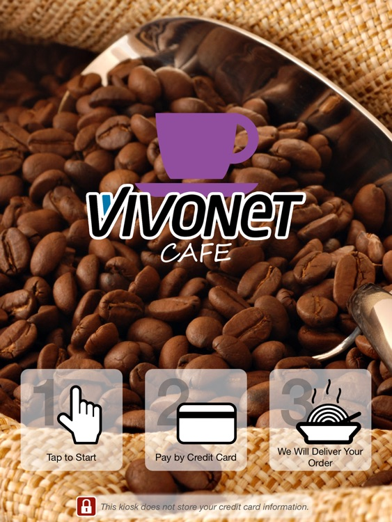 Vivonet Café Kiosk Ordering screenshot-0