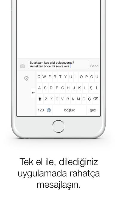 Türkçe Klavye screenshot one
