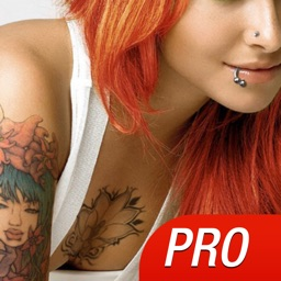 Piercing & Tattoo Salon PRO - Try Virtual Tattoo Designs & Piercing to Make your Body Inked or Pierced