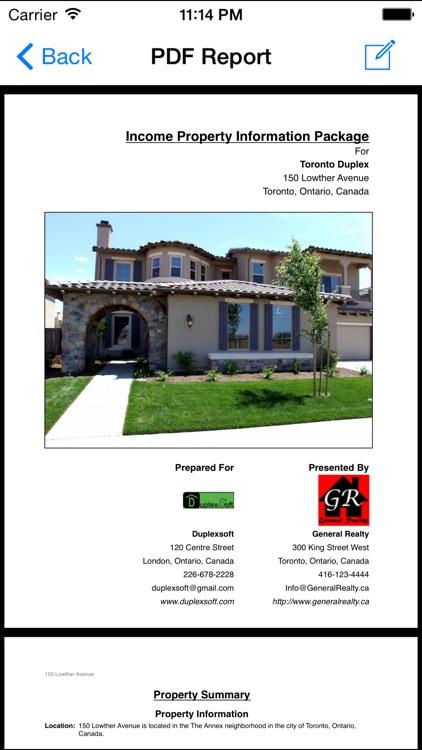 Income Property Evaluator