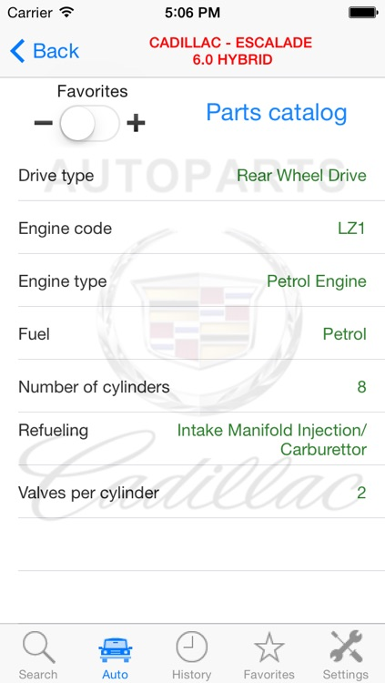 Autoparts for Cadillac screenshot-4
