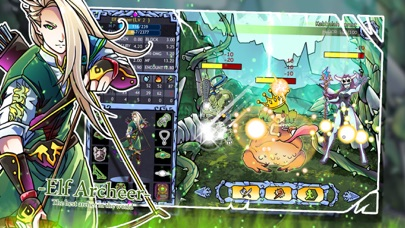 Monster Dungeons : Magic & Swords Free screenshot two