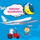 English vocabulary vehicle : english training for kids & toddler icon