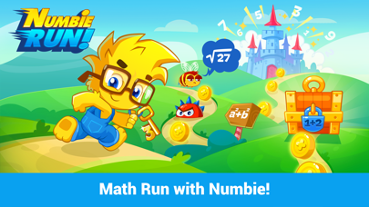Numbie Run: An exciting running game for 1st to 3rd grade! screenshot one