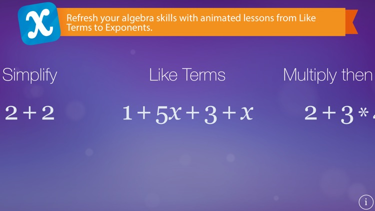 Algebra Touch screenshot-0