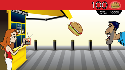 Burger Attack screenshot two