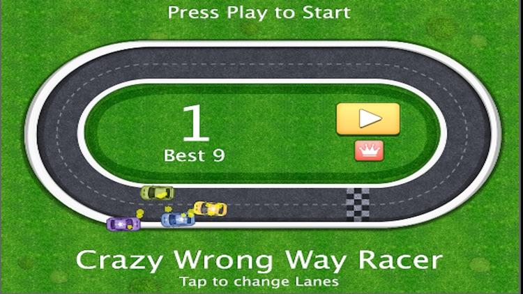 Crazy Wrong Way Racer screenshot-4