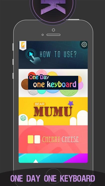 Colorful Keyboard Themes - Custom Keyboards Skins screenshot-4