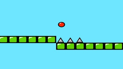 Red Bouncing Ball Spikes Free-0