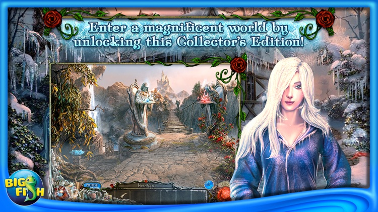 Living Legends: Frozen Beauty - A Hidden Object Fairy Tale (Full) screenshot-3