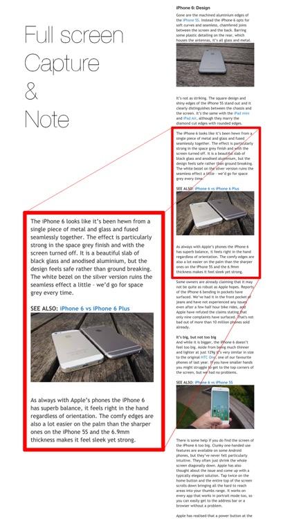 aNote - Screenshot note