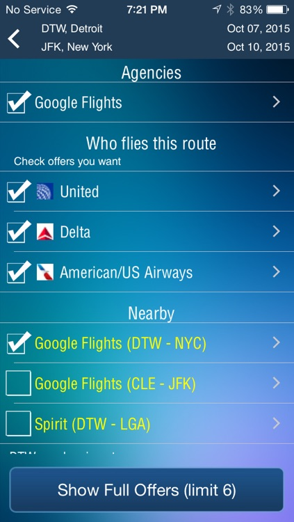 Detroit Airport Pro (DTW) Flight Tracker Wayne County screenshot-3