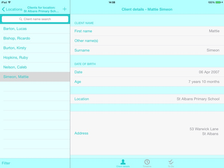 Caseload screenshot-2