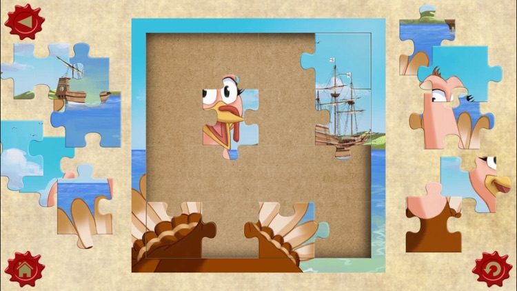 Thanksgiving Tale & Games - Gobble The Famous Turkey - eBook #1 screenshot-3