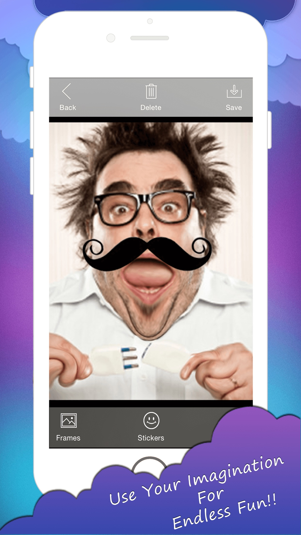 Face prank - Photo Distortion, Funny Face Warp, Pic Deform, Image Stretch, Face Changer,Touch of humour Screenshot