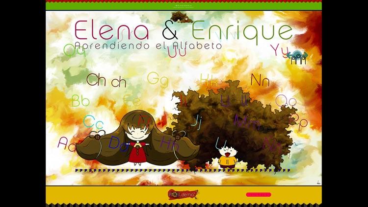 Elena y Enrique: Aprendiendo el Alfabeto