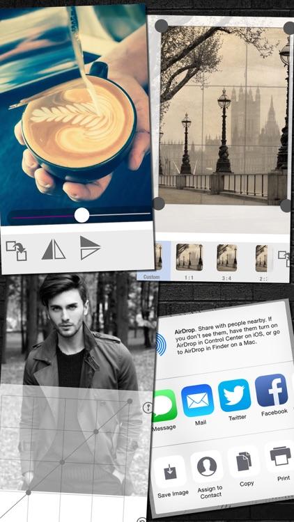 Black & White / Retro Photo Editor screenshot-3