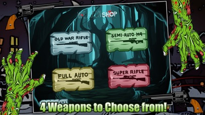 Zombie Attack Sniper Shooting Game FREE screenshot one