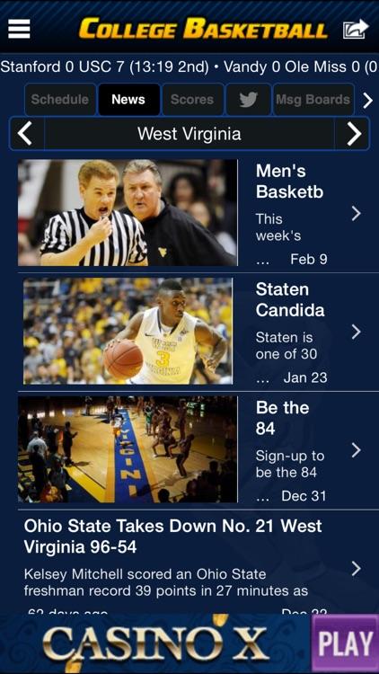 College Basketball Scoreboard