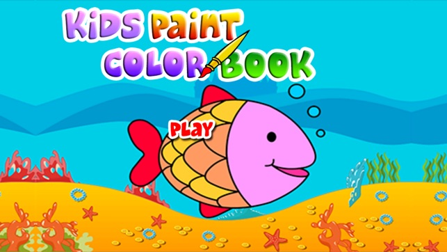 Kids Paint Color Book - coloring pages on the App Store