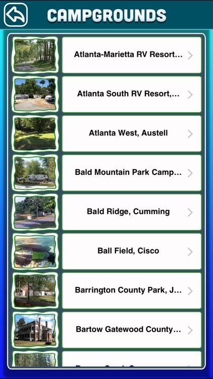 Georgia Campgrounds & RV Parks