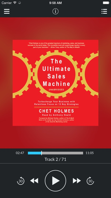 The Ultimate Sales Machine: Turbocharge Your Business with Relentless Focus on 12 Key Strategies (by Chet Holmes) (UNABRIDGED AUDIOBOOK)