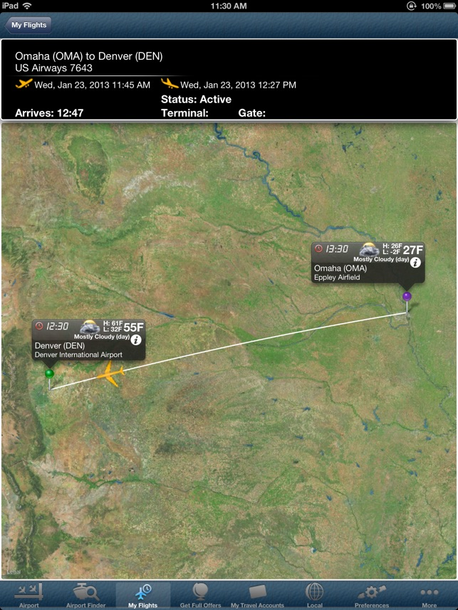 Denver Airport Pro DEN Flight Tracker