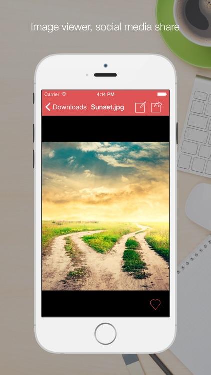 Cloud Hub - File Manager, Document Reader, Browser screenshot-3