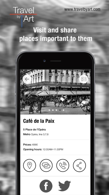 TravelbyArt - Discover the Paris of Famous Artists