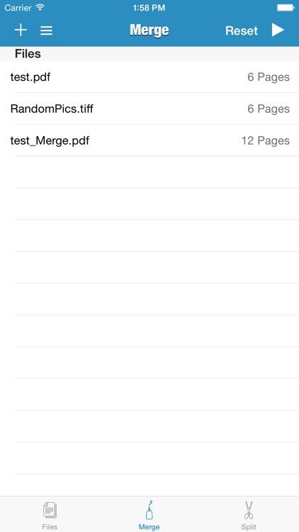 PDF - Split & Merge