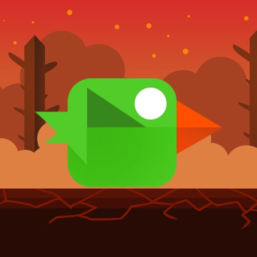 Fire Bird Run - Kids Addictive Road iOS App