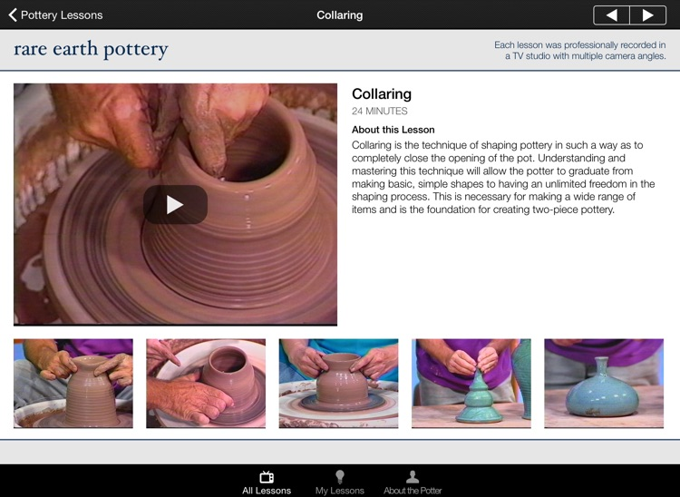 Pottery Lessons