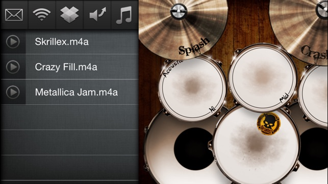 ‎Drums! - A studio quality drum kit in your pocket