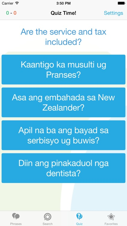 Cebuano Phrasebook - Travel in the Philippines with ease screenshot-3