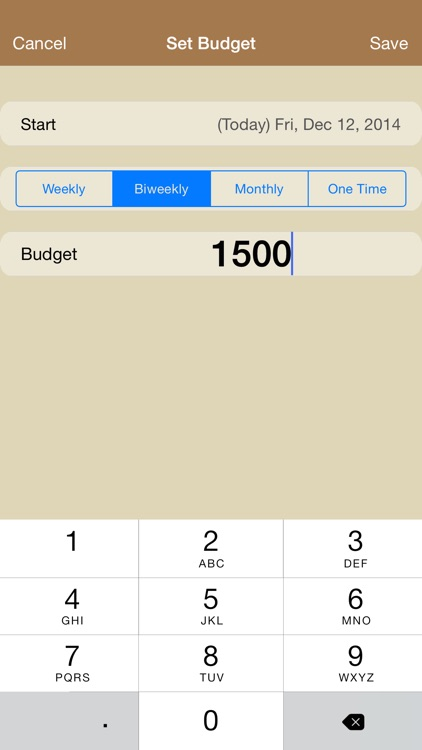 CashOut - Expense Budget and Cash Management for Personal and Family screenshot-3
