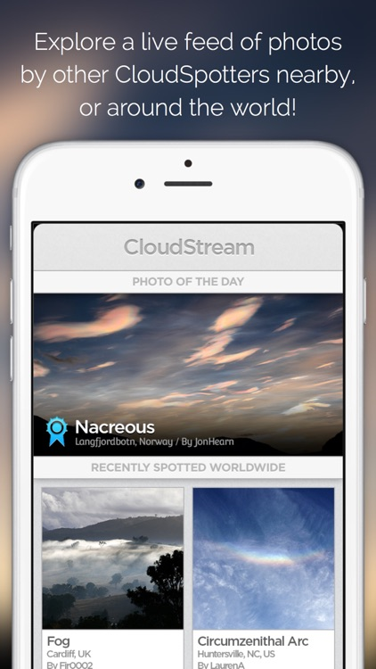 CloudSpotter – See the Sky with New Eyes and Discover the Fantastic World of Clouds screenshot-4