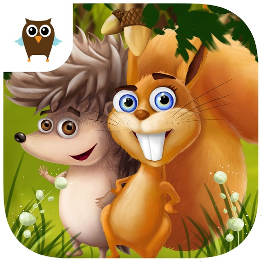 Forest Animals Chores and Cleanup, Arts and Crafts, Cake Bakery, Movies and Fun Adventures - Kids Game