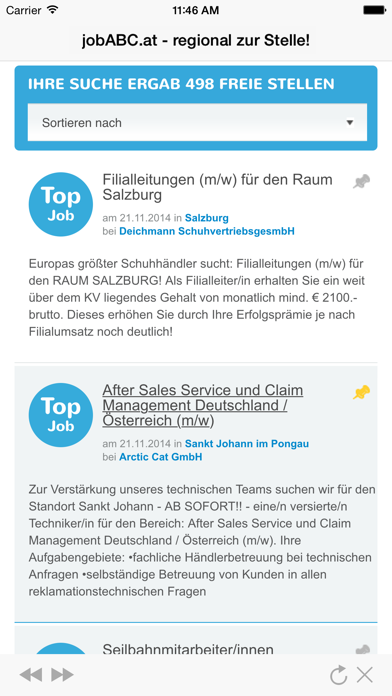jobABC.at – regional zur Stelle! screenshot two