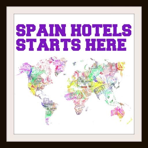 Spain Hotel Hola Icon