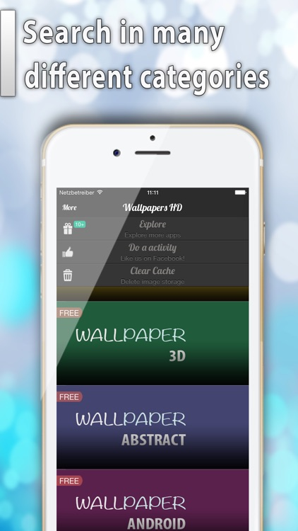 Wallpapers HD for iOS8 - Pimp your Screen