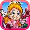 A Princess Gymnastics Fashion Girly Run - play 3d run-ing & shoot-ing kids games for girls - iPhoneアプリ