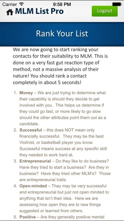 MLM Contact List Creator with ROMAR screenshot-3