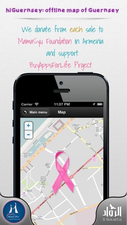 hiGuernsey: offline map of Guernsey screenshot-3