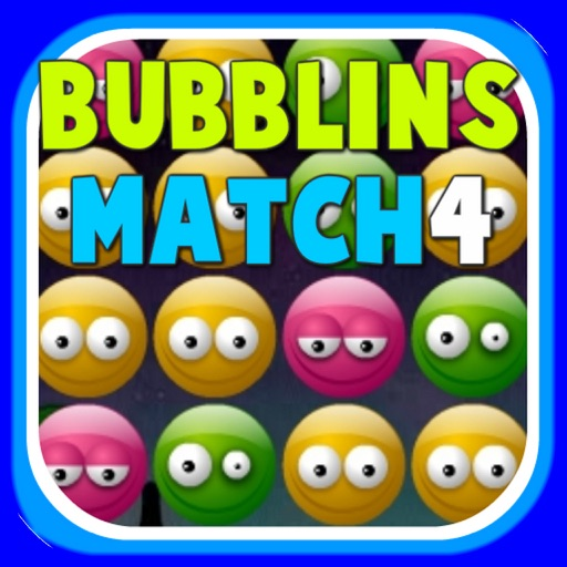 Bubblins Match4 - Best Free Puzzle & Matching Bubbles Mania