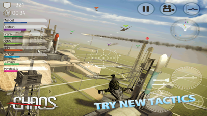 Screenshot from CHAOS - Multiplayer Helicopter Simulator 3D