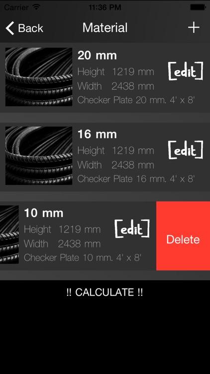 carpenter cutting pattern optimizer 2-dimension screenshot-4