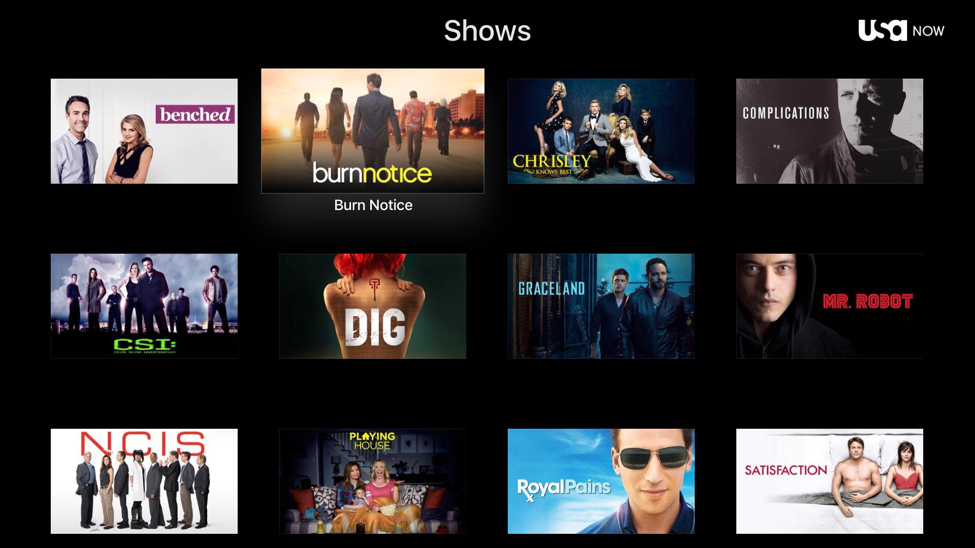 USA Network screenshot 10